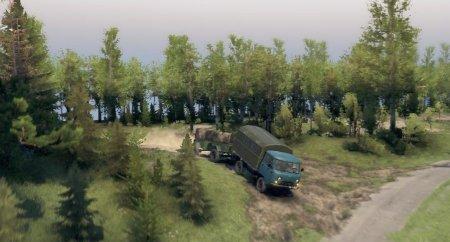 Скачать мод УАЗ-452 Бортовой для Spintires v. 03.03.16
