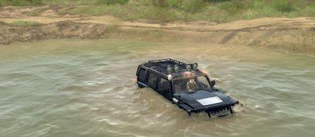 Скачать мод Hummer H3 для Spintires MudRunner