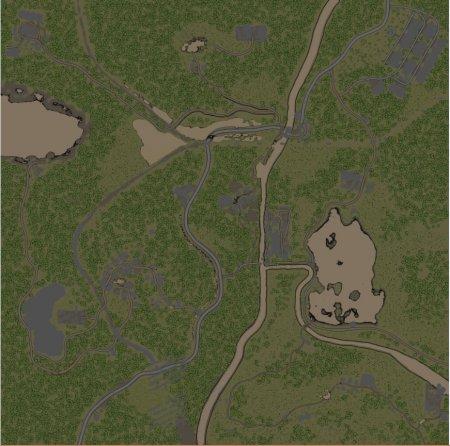 Скачать мод карта «12.45PM» для Spintires v. 03.03.16