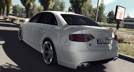 Скачать мод Audi S4 v.2.0 для Euro Truck Simulator 2 v. 1.35-1.36