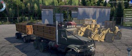 Скачать мод грузовик Краз 255 Elk для Spintires v. 03.03.16