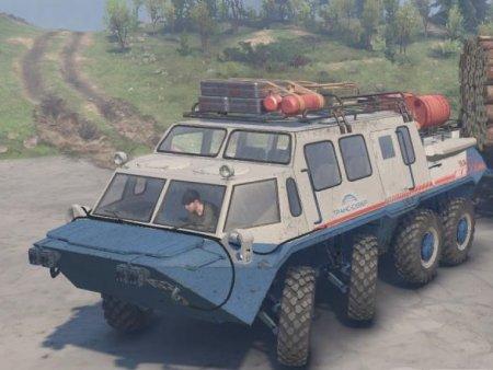 Скачать мод грузовик Газ 59037-S для Spintires v. 03.03.16