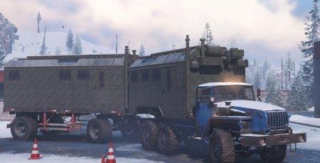 Скачать мод грузовик Урал 4320-31 для SnowRunner