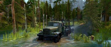 Скачать мод карта «Lakeside Valleys» для Spintires MudRunner