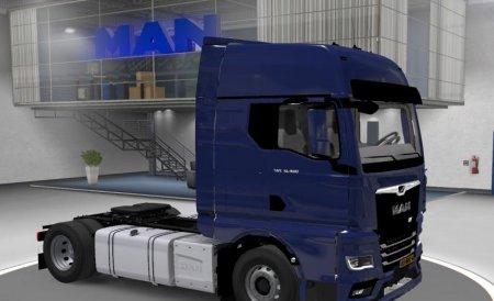 Скачать мод грузовик MAN TGX 2020 для Euro Truck Simulator 2 v. 1.35-1.36