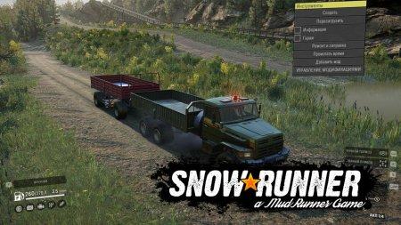 Скачать мод грузовик Truck Voron для SnowRunner