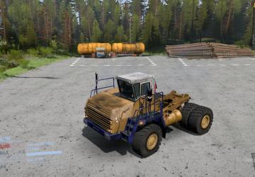 Скачать мод грузовик Белаз 7540 для Spintires MudRunner