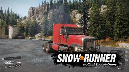 Скачать мод грузовик Navistar 5000MV для SnowRunner