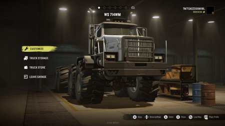Скачать мод грузовик WS 714WM для SnowRunner