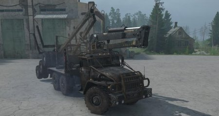 Скачать мод грузовик Урал 4320 для Spintires MudRunner