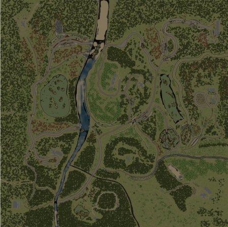 Скачать мод карта «Level 2 (32x32)» для Spintires v. 03.03.16
