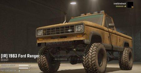 Скачать мод Ford Ranger 1983 v1.0.2 для SnowRunner