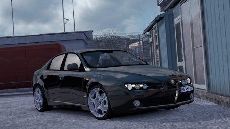 Скачать мод Alfa Romeo 159 v1.4 для Euro Truck Simulator 2 v. 1.37
