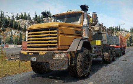 Скачать мод грузовик Royal BM18 для SnowRunner