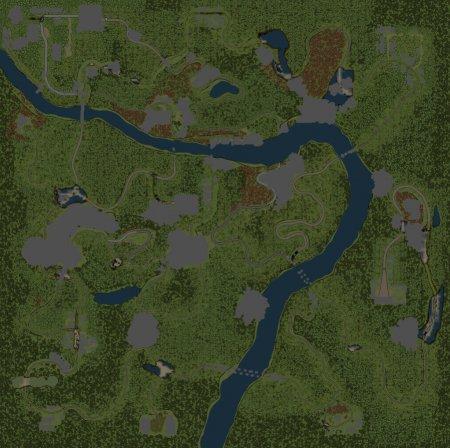 Скачать мод карта «Вакансия» для Spintires v. 03.03.16