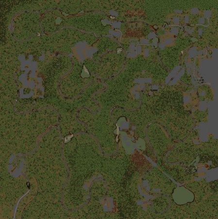 Скачать мод карта «Другая земля» для Spintires v. 03.03.16